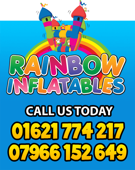 Rainbow Inflatables - Call Us Today